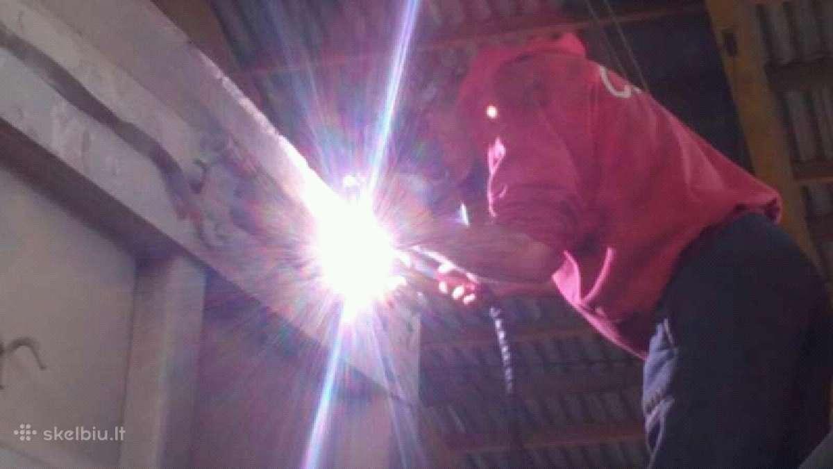 Aliuminio ir kitu metalu suvirinimas.