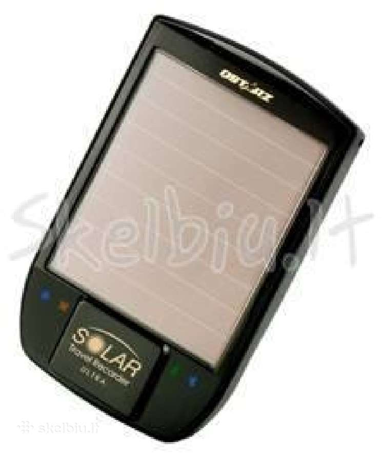 GPS imtuvas qstarz bt-q1200 su saules elementu