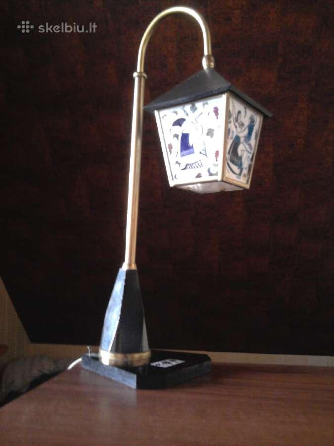 Dekoratyvinis stalinis šviestuvas