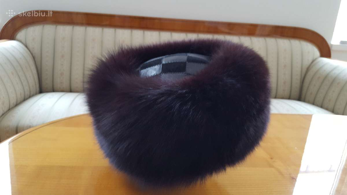 Elegantiska ziemos kepure 36eur