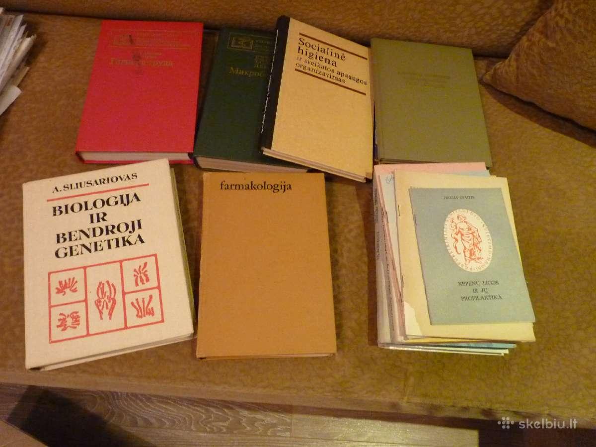 Medicininės knygos 1980 m.