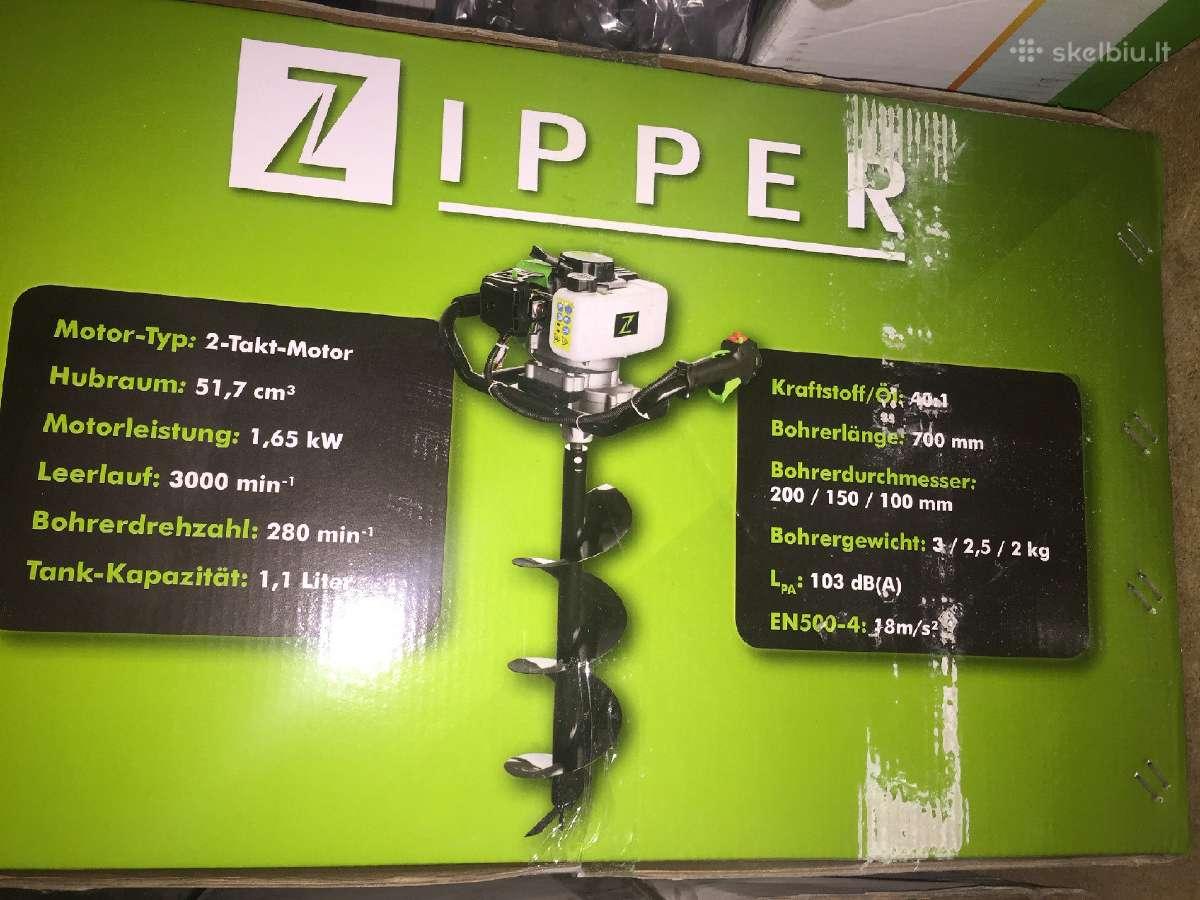 Zemes graztas Zipper