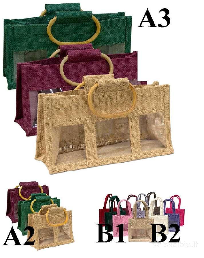 Dovanų maišeliai, krepšeliai A3,A2,B1