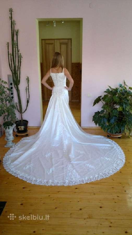 Nauja Retro stiliaus vestuvinė suknelė
