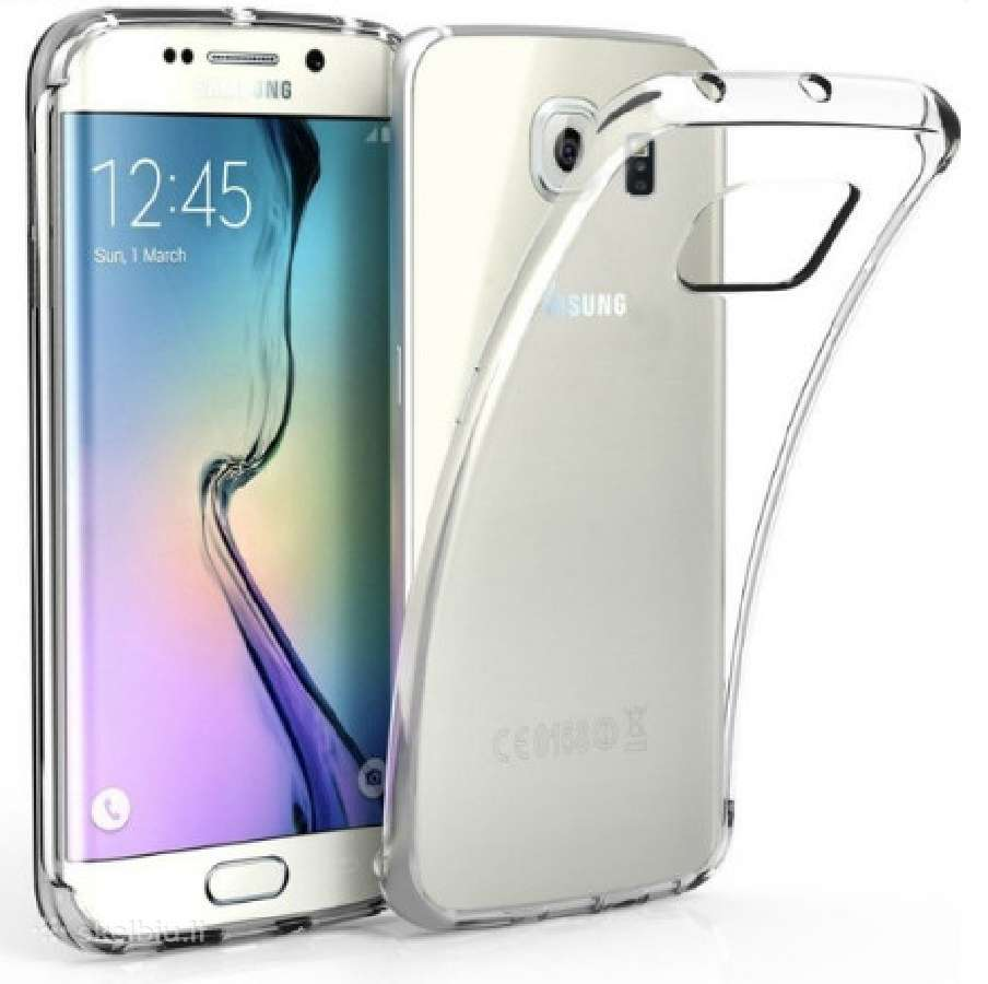 Silikoniniai skaidrūs Samsung dėklai