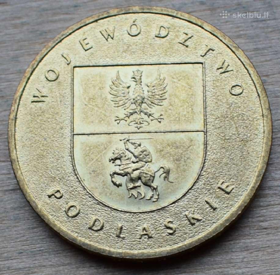 Lenkia pinigas 2 zlote 2004m. N258+*