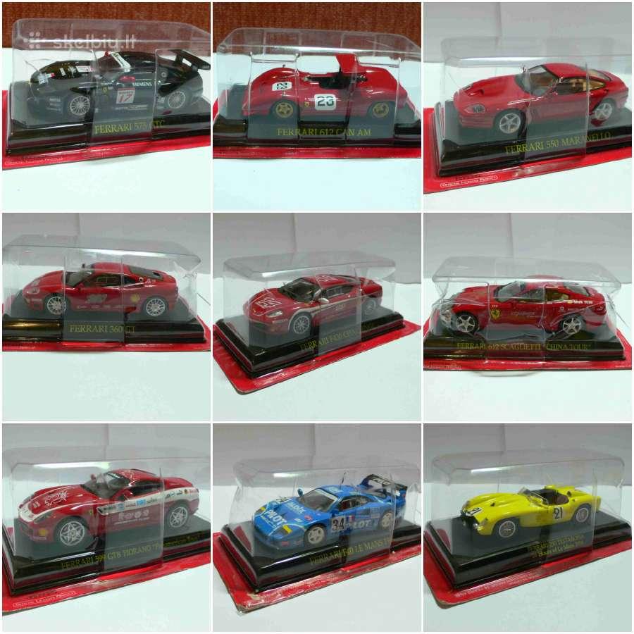 Ferrari modeliukai