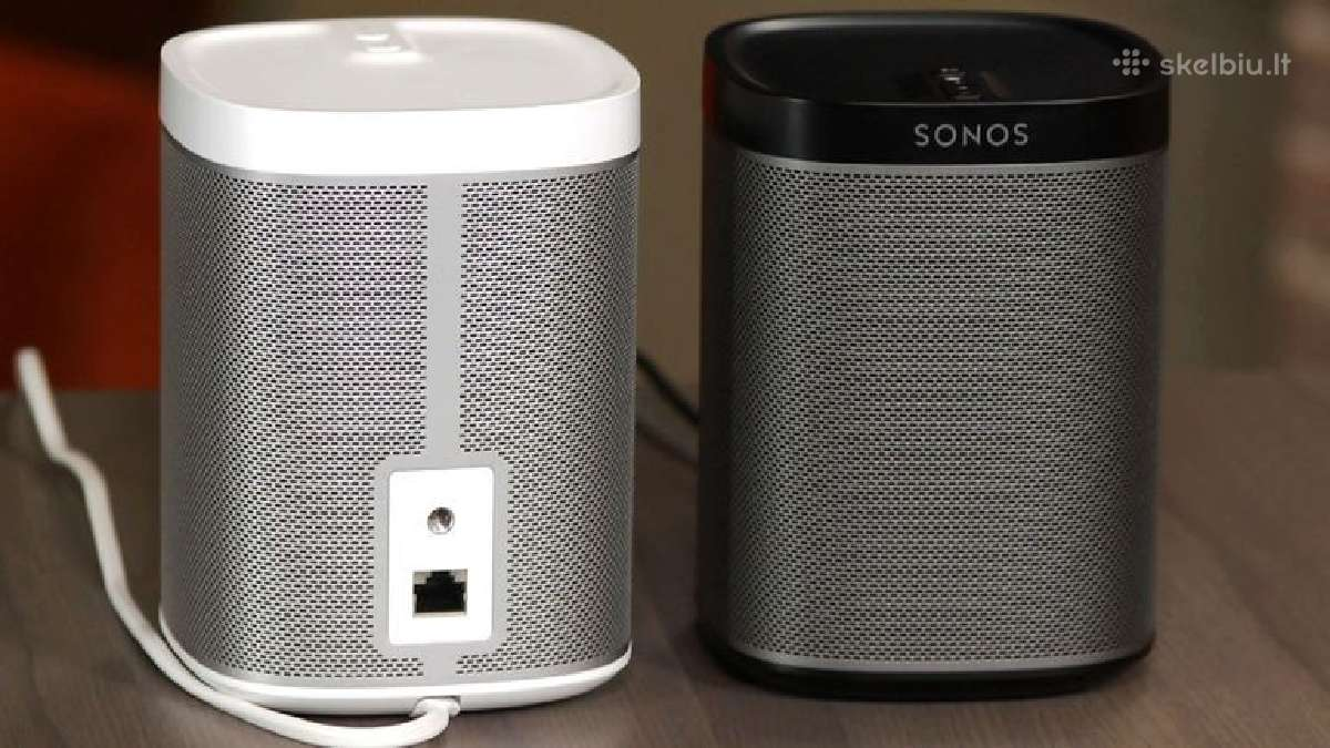 Sonos Play One 1, 3, 5, Connect bevieles koloneles