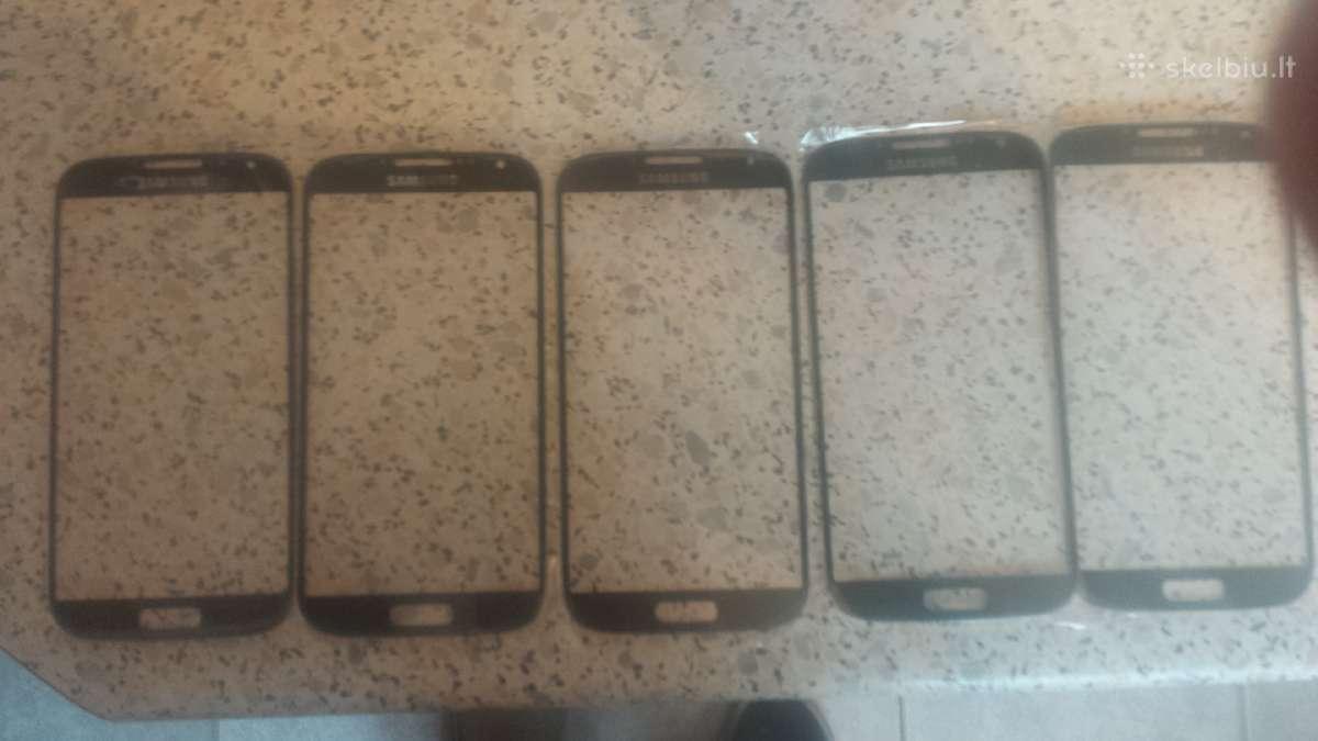 Samsung galaxy s4 i9505 ekrano stiklai juodi