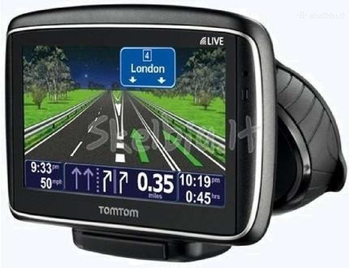 Naujos ir naudotos GPS navigacijos