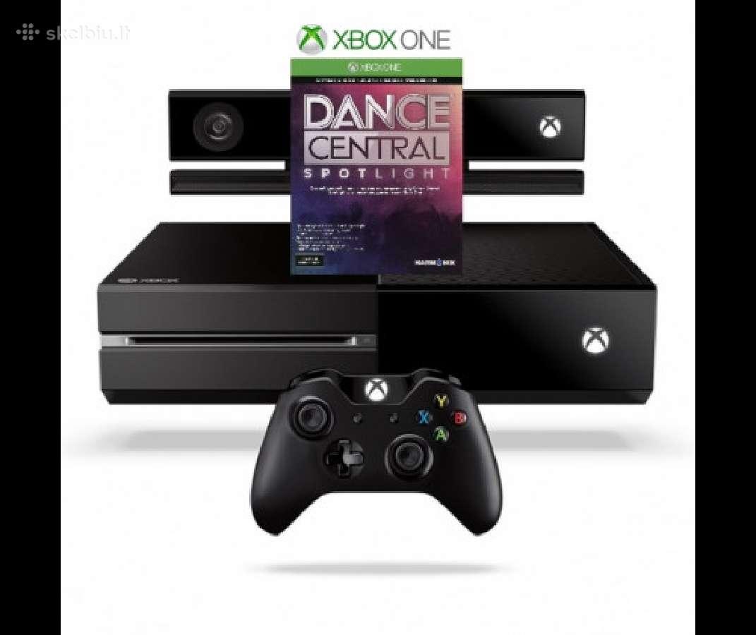 Xbox One S 500gb/1tb, One X 1tb konsole, zaidimai