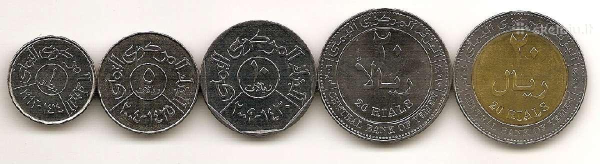 Jemeno monetu rinkinukas