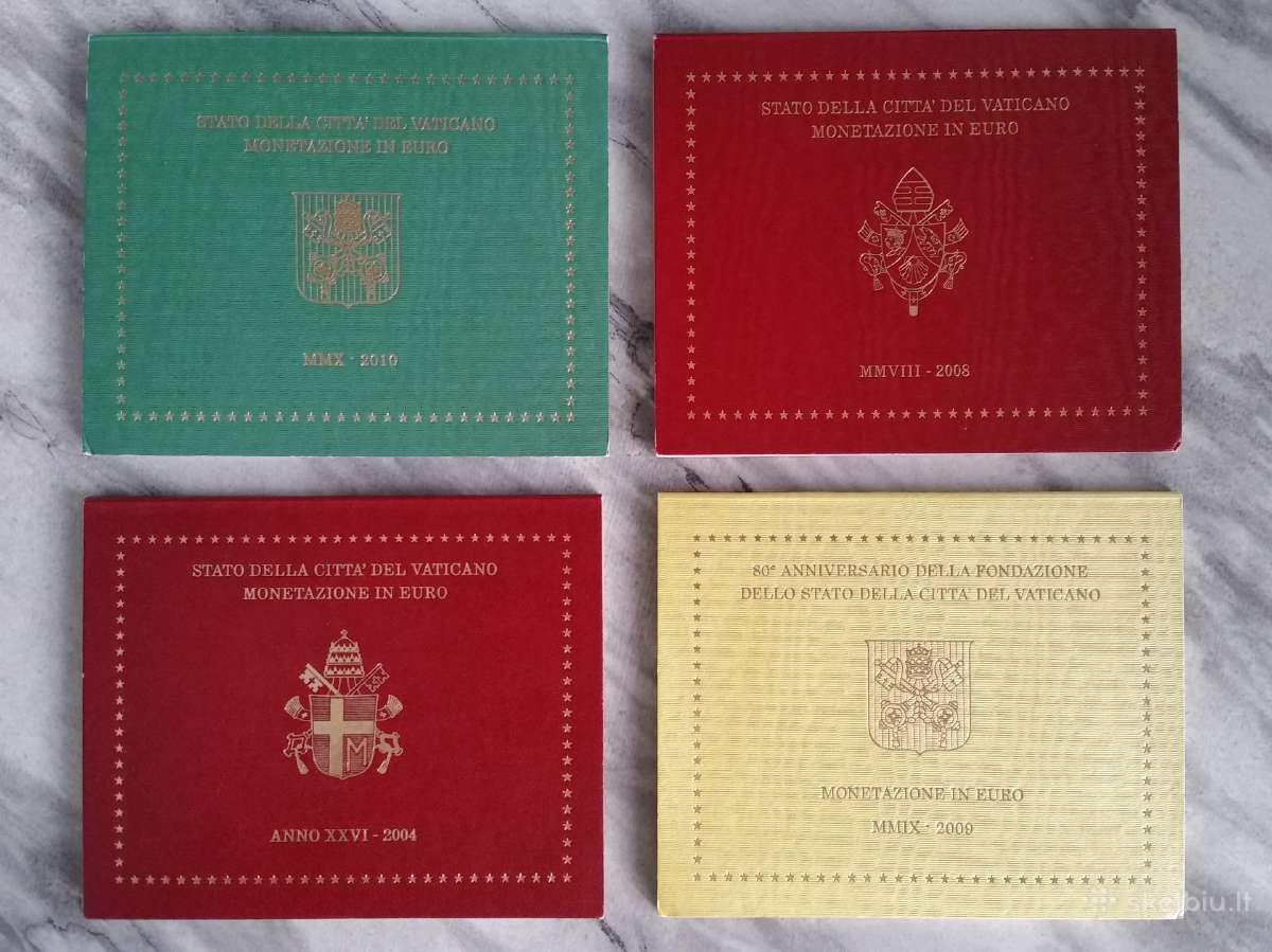 Vatikanas: Euru rinkiniai: 2008, 2009, 2010