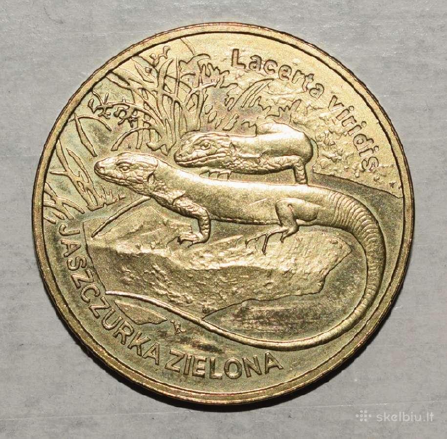 Lenkia moneta 2 zlote 2009m. N58+*
