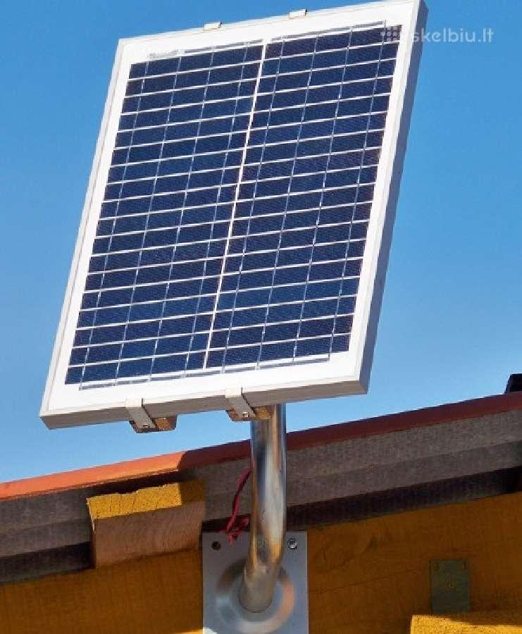 Saulės elektros baterija 20 W fotovoltinė Solar
