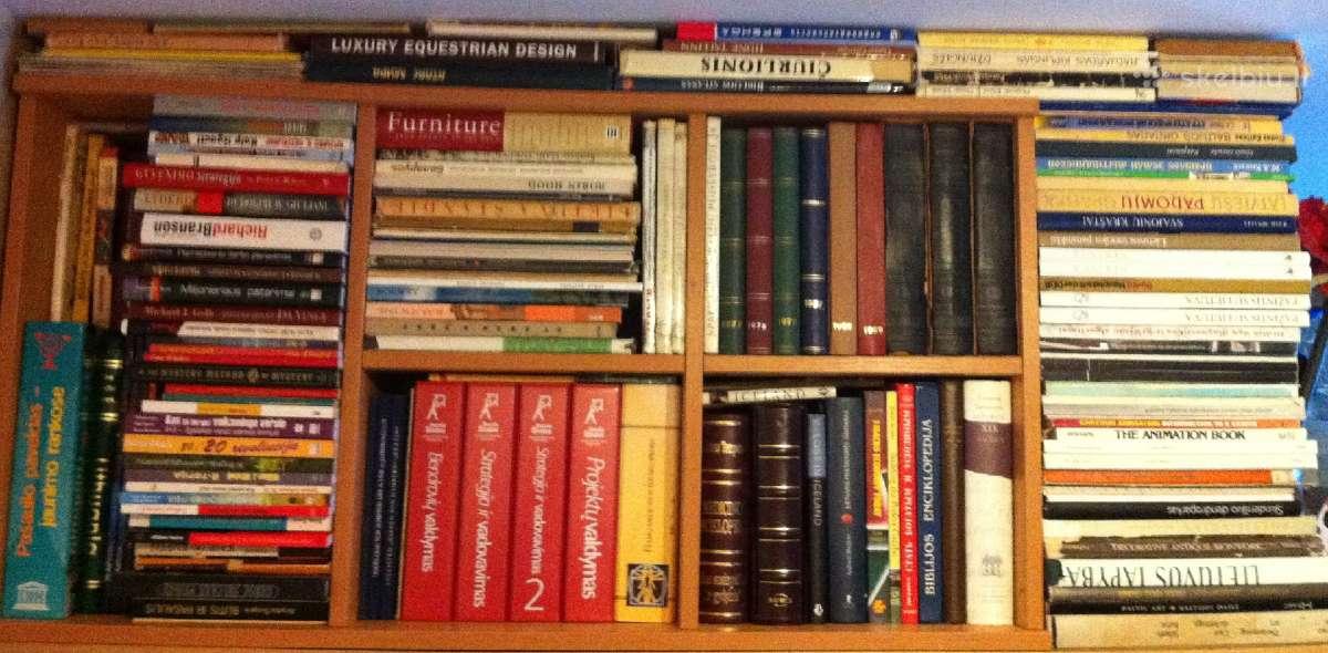 Ivairios knygos, daugiau kaip 1000