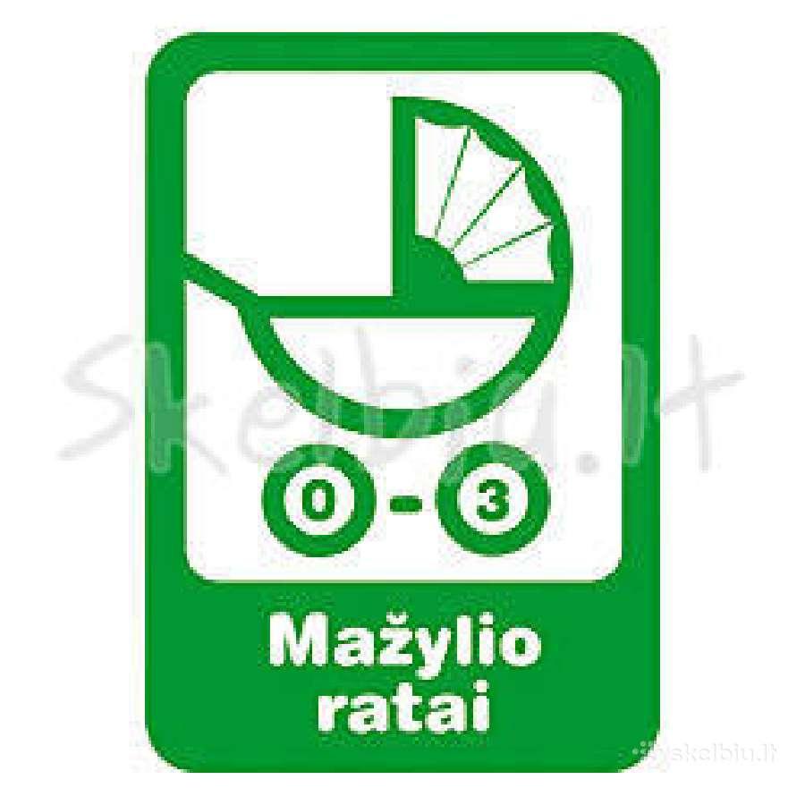 Mažylio ratai - prekės vaikams