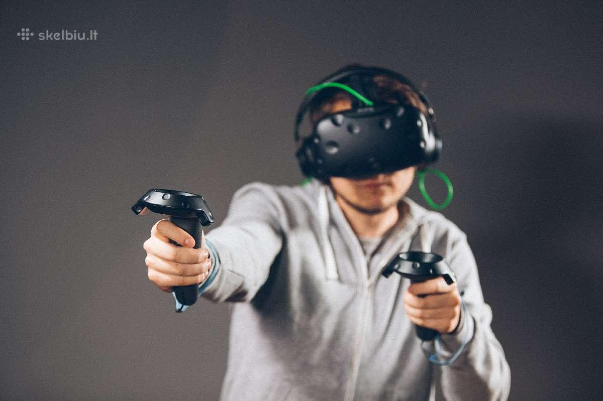 HTC Vive virtualios realybės akiniai (nuoma)
