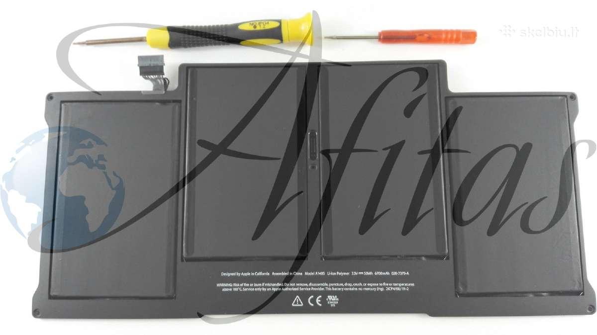 "Baterija Apple MacBook Air 13"" A1369, A1466 49 Eu"
