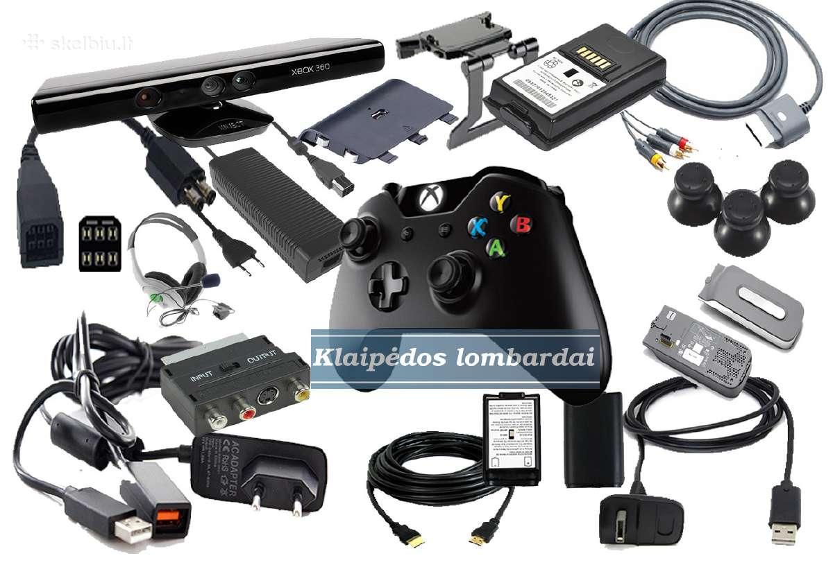 Xbox priedai,ausines,TV laidai,pultu Laidai.ir T.t