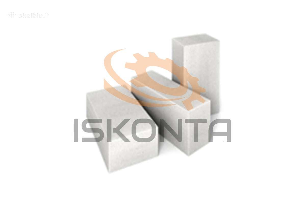 Akyto betono, dujų silikato blokeliai