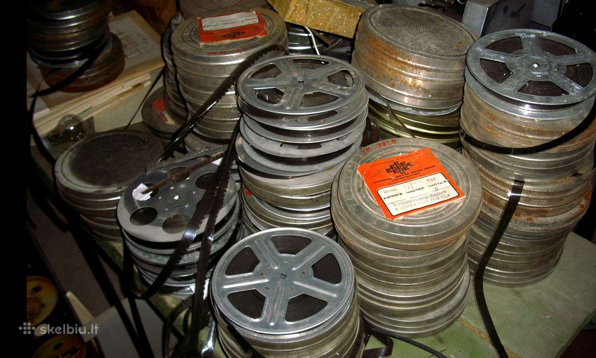 16 mm kino filmai