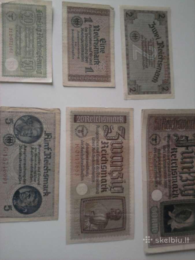 Vokiškos reichsmarkės ir rubliai 1947