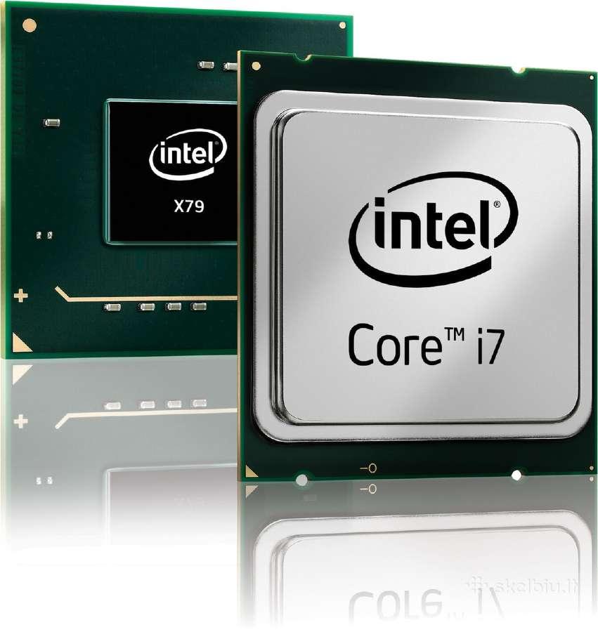 Intel procesoriai nesiojamiems kompiuteriams!