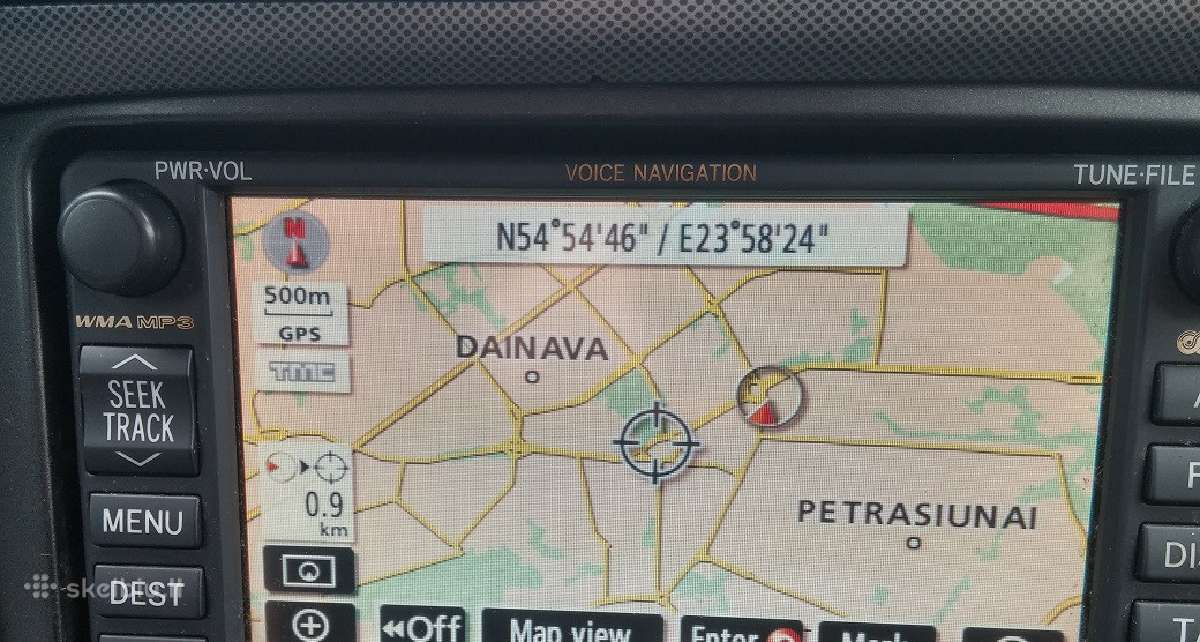 Nissan Vw Toyota Audi navigacija Sd kortelės 90eur