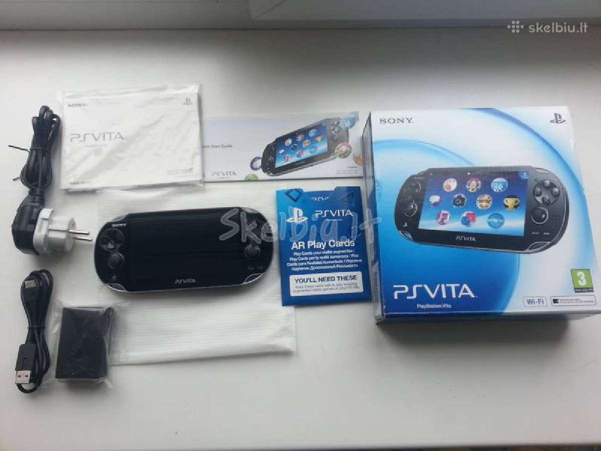 Atrišta Sony Psvita 3.60 32gb su garantija