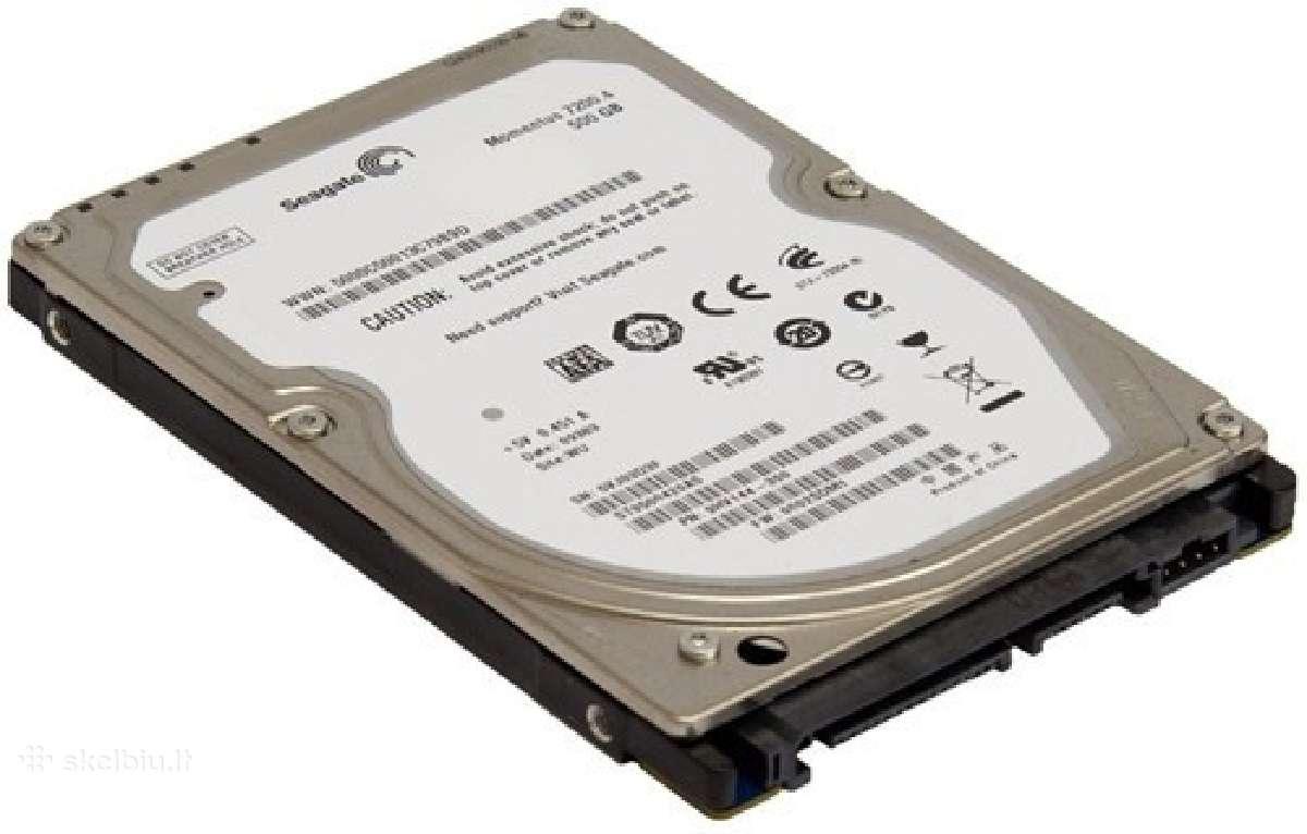 HDD 2,5 Sata laptopams