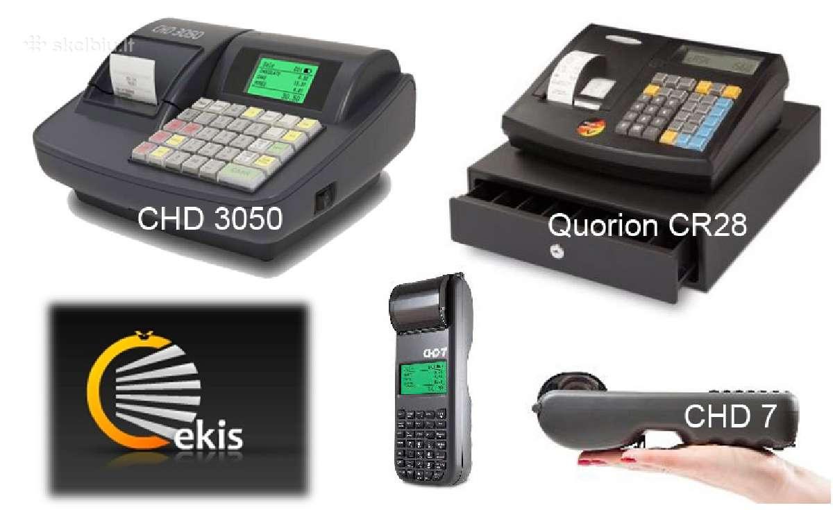 Kasos aparatų nuoma ir pardavimas