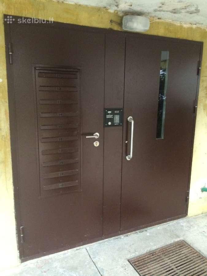 Laiptinių, garažo, rūsio metalinės durys