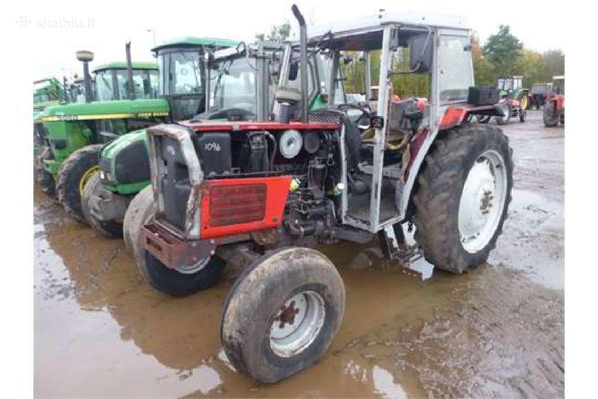 Superkame traktorius ardymui