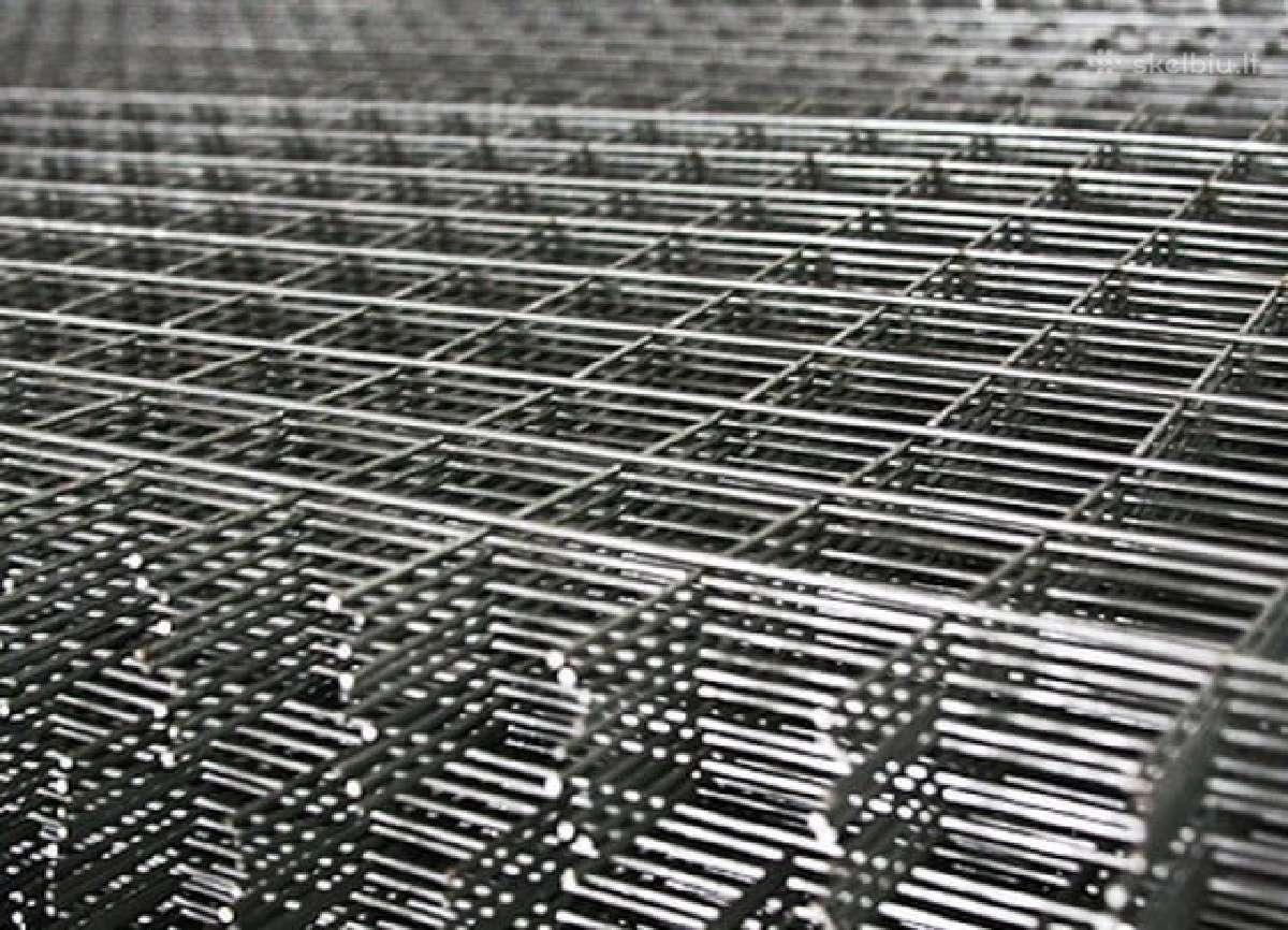 Armavimo tinklas betonavimo darbams, metalo fibra