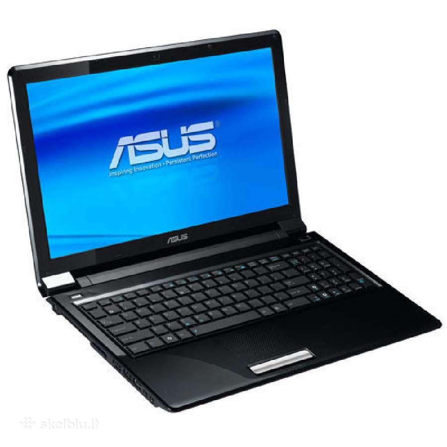 Nešiojamą kompiuterį Asus Ul50vt dalimis