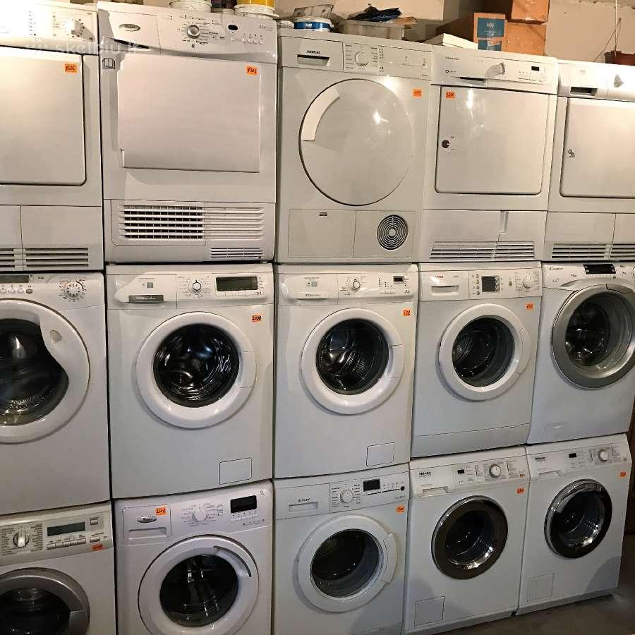 Naudotos skalbimo mašinos Vilniuje su garantija