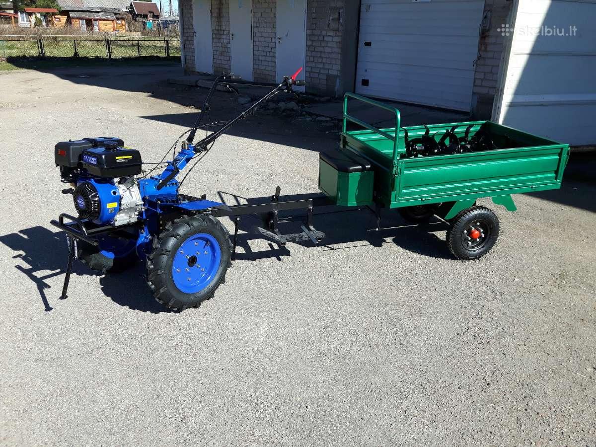 Bertoni farmer motoblokas kultivatorius