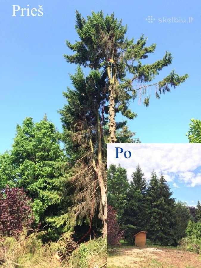 Medžių pjovimas Kaune Geriausia Kaina