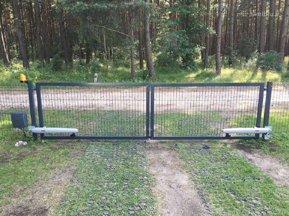 Kokybiškos kiemo vartų automatikos, automatika
