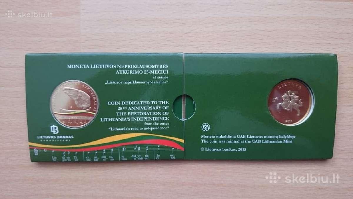Parduosiu Lietuvos nepriklausomybės atkūrimo 25-me