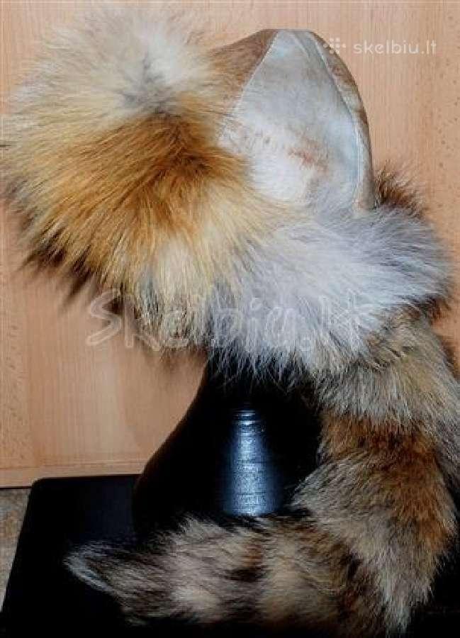 Stilingos, šiltos kailinės kepurės