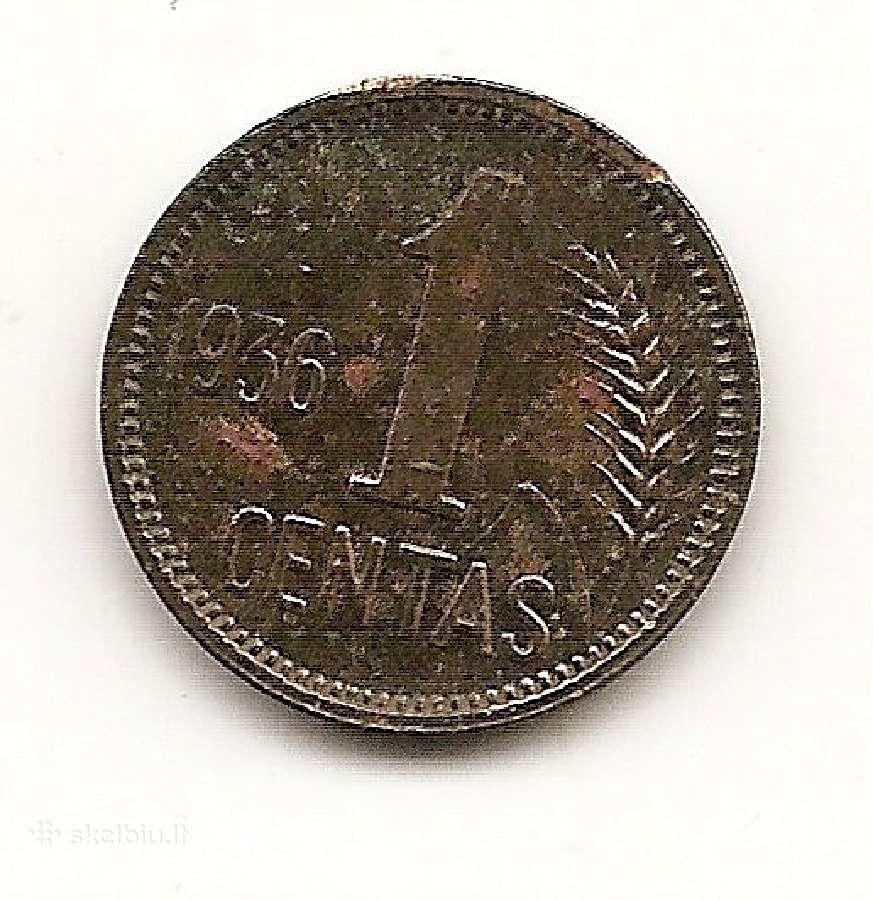 Lietuva centas 1936 #79 (1703082)