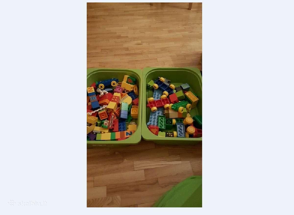 Lego duplo traukinukas ir namelis