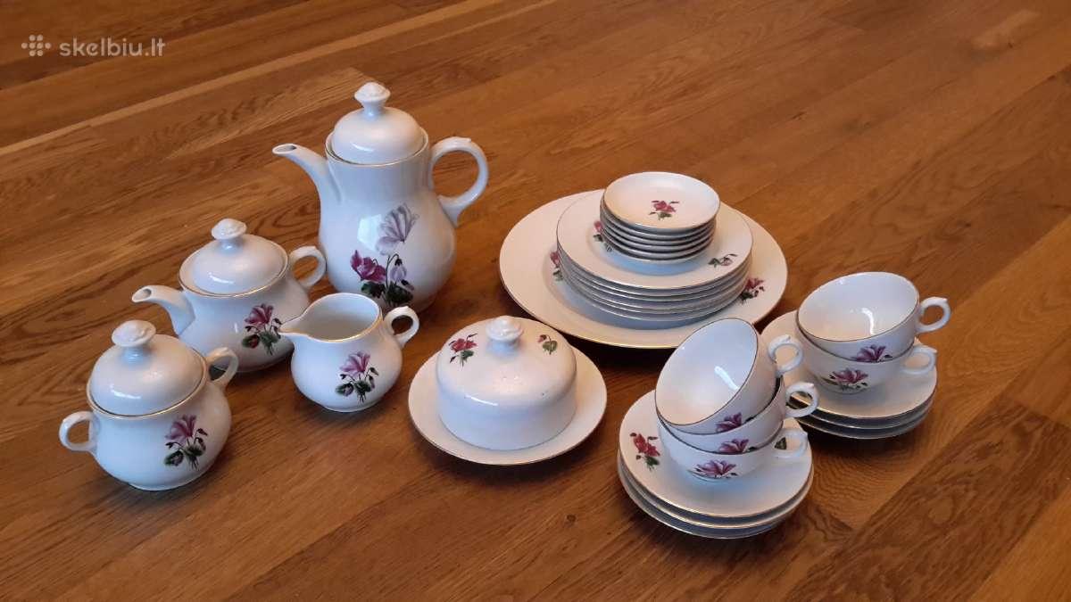 Kavos arbatos servizas