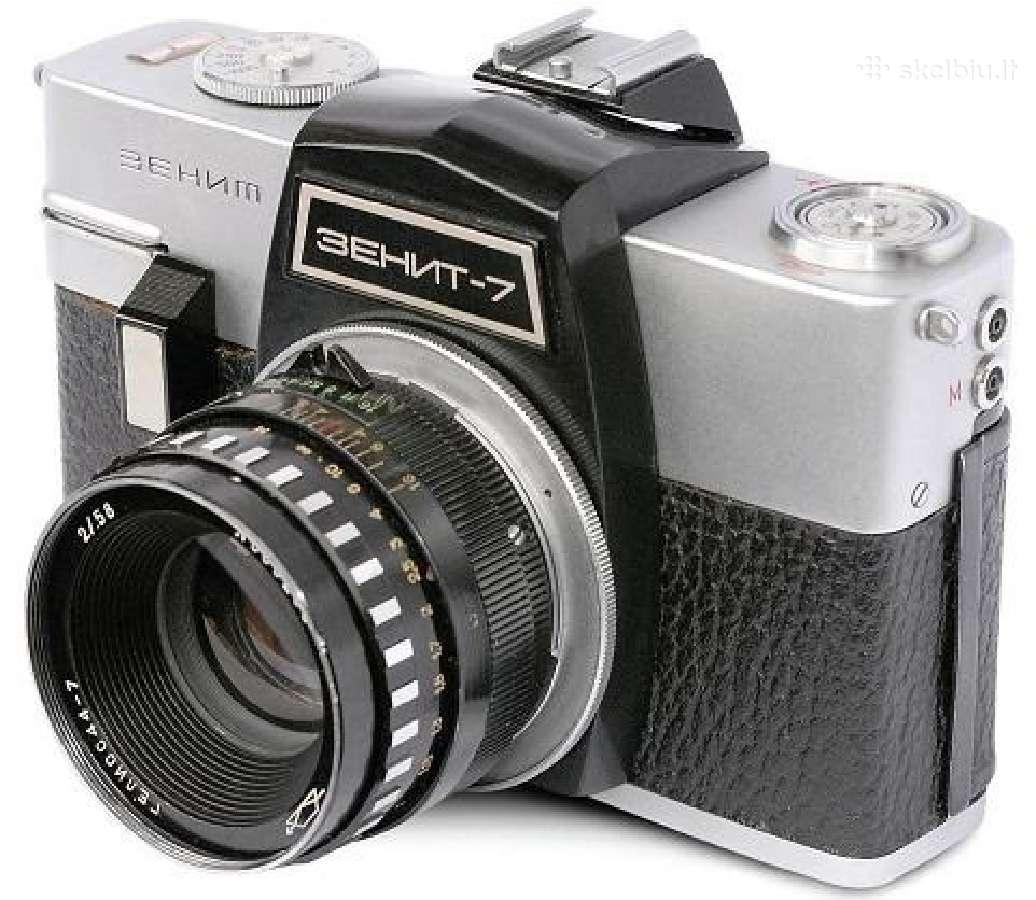 Brangiai Nupirksiu Fotoaparata Zenit -7