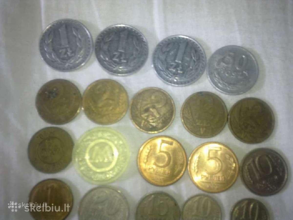 Siūlau Lenkų ir Rūsų monetų kaina už visas 6 euru