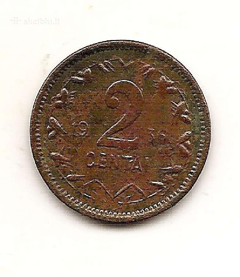 Lietuva 2 centai 1936 #80 (149) kitas