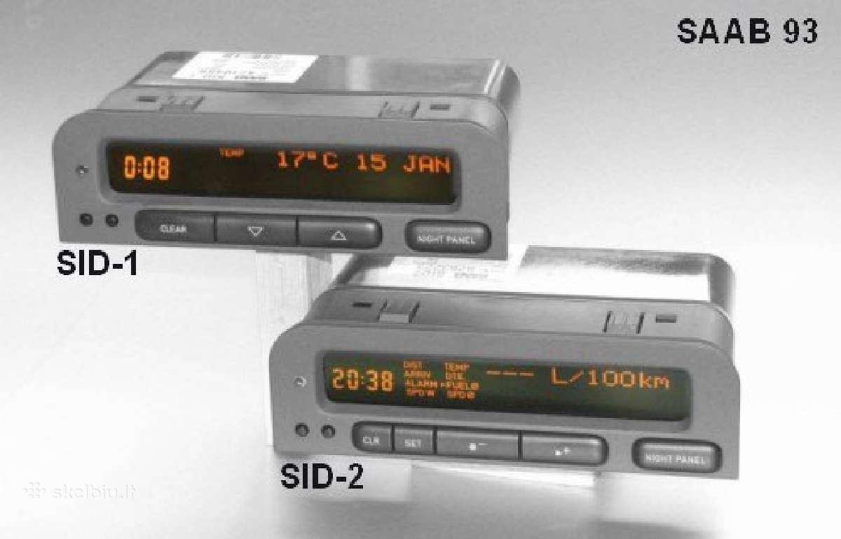 Saab 9-3 9-5 Sid1 / Sid2 pikseliu pixeliu remontas