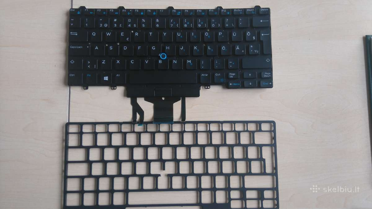 Dell Latitude E5470 klaviatūra 0YGYR4